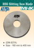 HSS Slitting Saw Blade for Metal