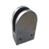 Stainless Steel Polish D-Shape Glass Clamp