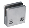 Stainless Steel Flat Square Glass Clamp