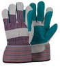 LEATHER Double Palm Gloves LEATHER GLOVES042222641