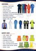 SAFETY COVERALLS PANT SHIRTS BLUE COLOR 042222641
