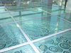 Glass Finish Raised Access Floor in Sharjah UAE