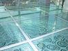 Glass Finish Raised Access Floor in Sharjah UAE