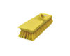 Carpet Brush yellow bristle with wooden Handle